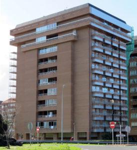 Rehabilitación fachada Alai Auzategia 5 Zumaia